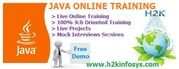 JAVA Online Training with Placement