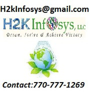 Hadoop Online Training By H2KInfosys