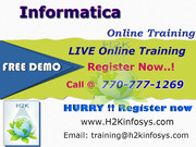 Informatica Training Classes and Placement Assistance