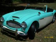 1962 Austin Healey 3000 BT7 Mk II