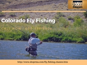 Colorado Fly Fishing Lessons at Rocky Mountain Adventures