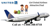 Get Attractive Deal with United Airlines Right Now