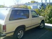 85 Chevy Blazer 4x4   $900 obo
